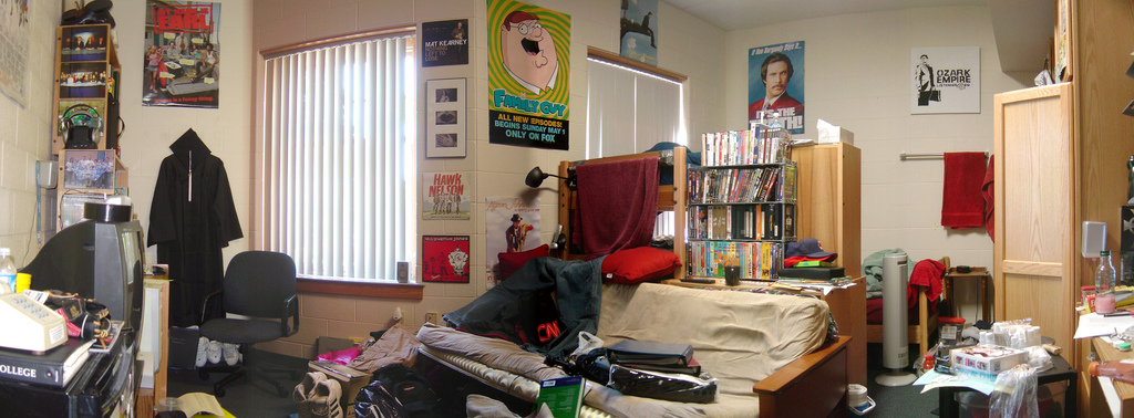 Chris Metcalf Photo of a Dorm Room