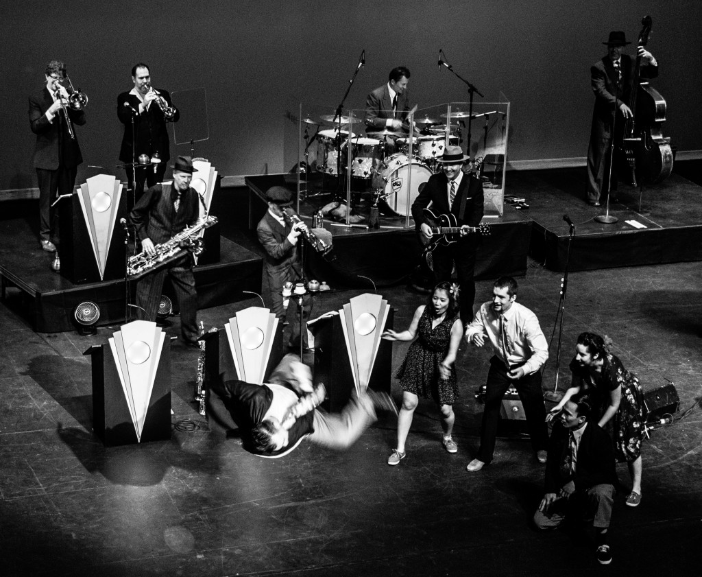 Big Bad Voodoo Daddy on Stage | Photo by Steve O'Bryan