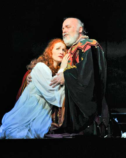 Rigoletto-and-Gilda, Photo - Sergio Valente