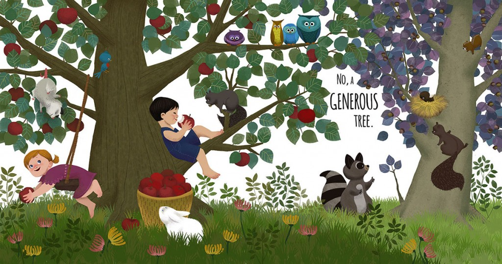 generous tree Children's Book Illustrator LeUyen Pham