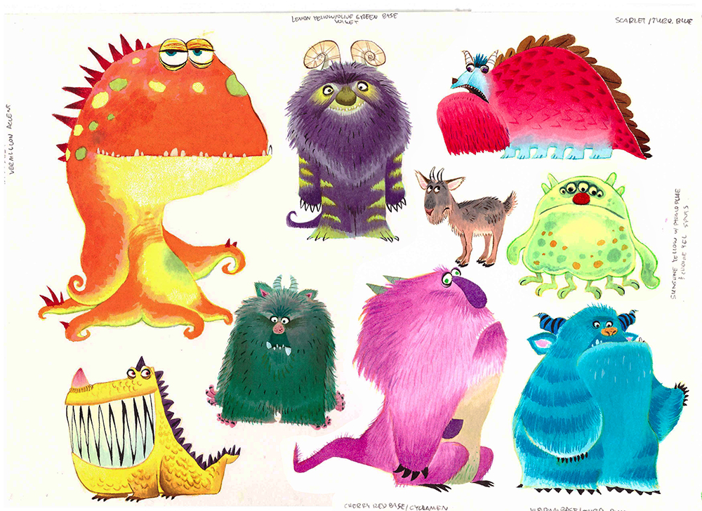 monsters Children's Book Illustrator LeUyen Pham