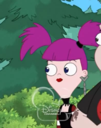"""Lacie"" from Phineas and Ferb"
